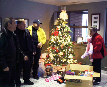 Christmas 2012 toydrive for 51 Division